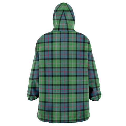 Image of MacThomas Ancient Snug Hoodie - Unisex Tartan Plaid Back
