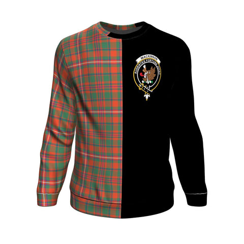 MacKinnon Ancient Tartan Sweatshirt - Half Style | 1sttheworld.com