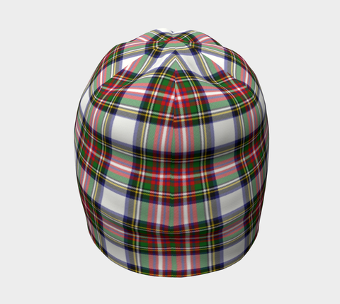 Image of Stewart Dress Modern Tartan Clan Crest Beanie Hj4