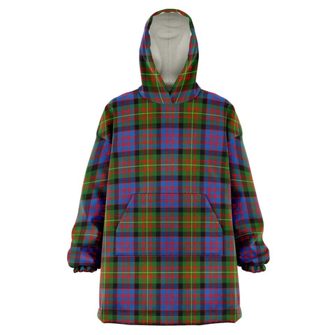 Image of Carnegie Ancient Snug Hoodie - Unisex Tartan Plaid Front