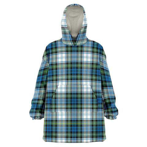 Campbell Dress Ancient Snug Hoodie - Unisex Tartan Plaid Front