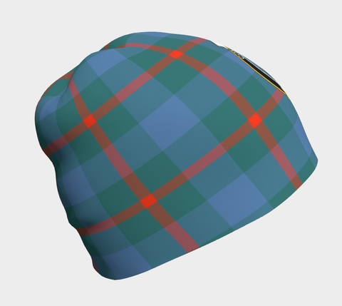 Image of Agnew Ancient Tartan Clan Crest Beanie