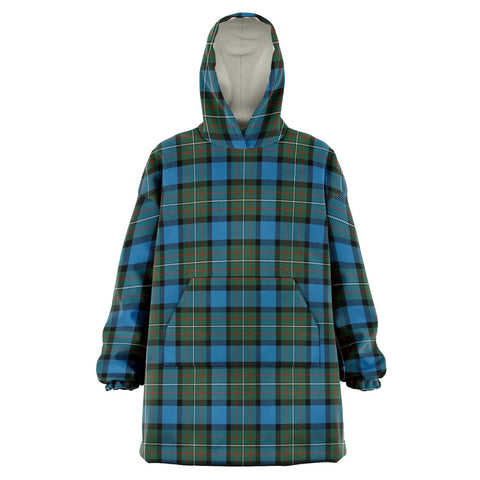 Fergusson Ancient Snug Hoodie - Unisex Tartan Plaid Front