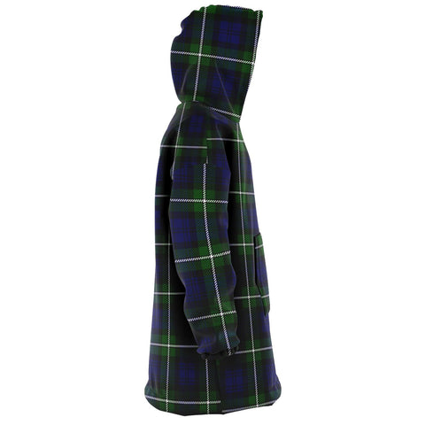 Image of Forbes Modern Snug Hoodie - Unisex Tartan Plaid Right