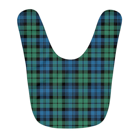 Campbell Ancient 01 Fleece Baby Bib | Kids Scottish Clothing | Bib Garment