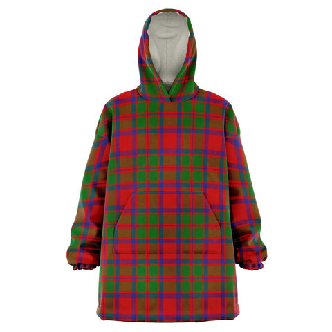 MacKintosh Modern Snug Hoodie - Unisex Tartan Plaid Front