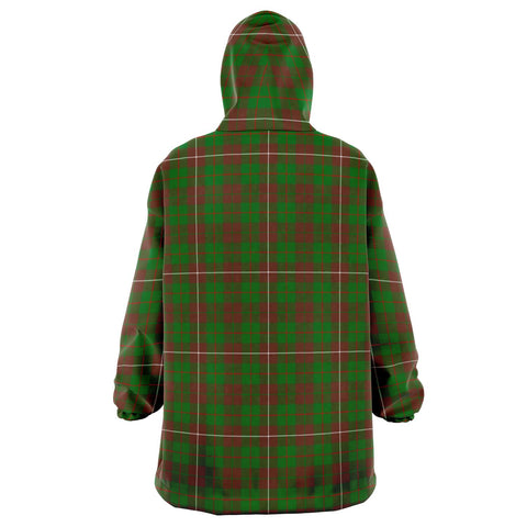 MacKinnon Hunting Modern Snug Hoodie - Unisex Tartan Plaid Back