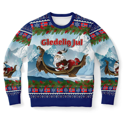 Norway Sweatshirt Santa Viking Is Coming