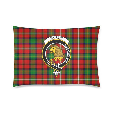 Fairlie Tartan Clan Badge Rectangle Pillow Hj4 One Size / Fairlie Modern Custom Zippered Pillow