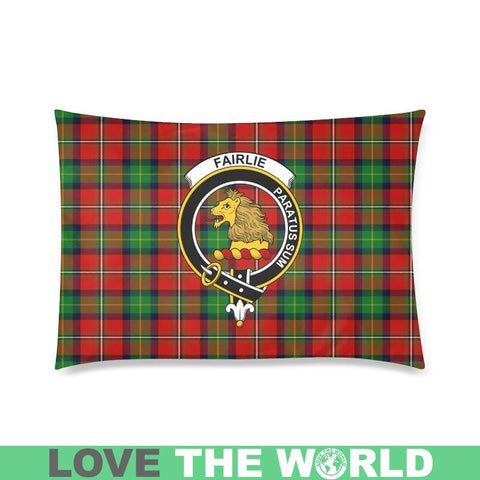 Image of Fairlie Tartan Clan Badge Rectangle Pillow Hj4 One Size / Fairlie Modern Custom Zippered Pillow