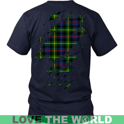 Image of Farquharson In Me T-Shirt S12 District Long Sleeve Shirt / Navy S T-Shirts