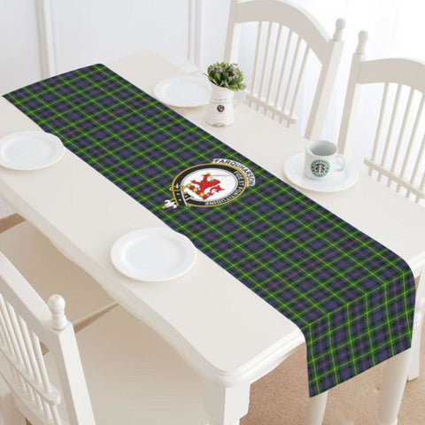 Image of Farquharson Modern Tartan Table Runner - Tm Runners