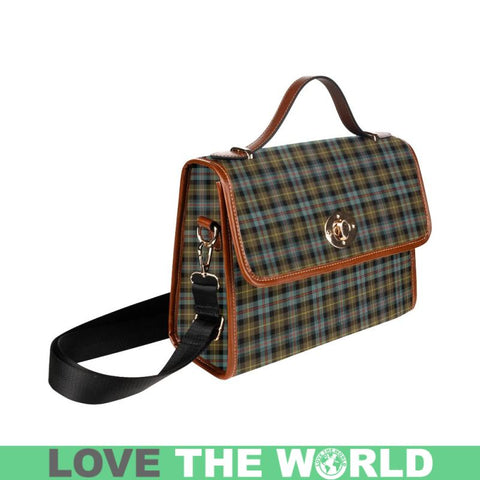 Image of Farquharson Weathered Tartan Plaid Canvas Bag | Online Shopping Scottish Tartans Plaid Handbags