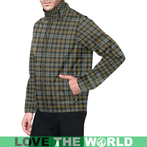 Image of Tartan Windbreaker - Farquharson Weathered A9 | 1sttheworld.com