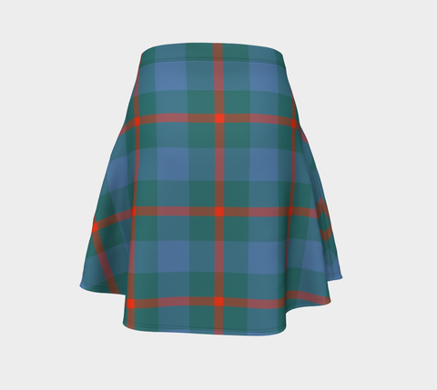 Tartan Skirt - Agnew Ancient Women Flared Skirt A9 |Clothing| 1sttheworld