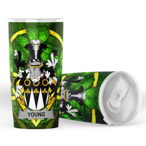 Young Ireland Tumbler - Celtic Shamrock | Over 1400 Crests | Accessories | Highest Quality