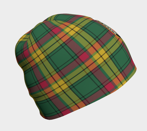 MacMillan Old Ancient Tartan Clan Crest Beanie