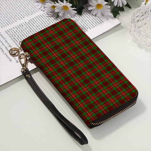 Image of AINSLIE TARTAN ZIPPER WALLET HJ4