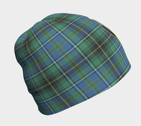 Image of MacInnes Ancient Tartan Clan Crest Beanie