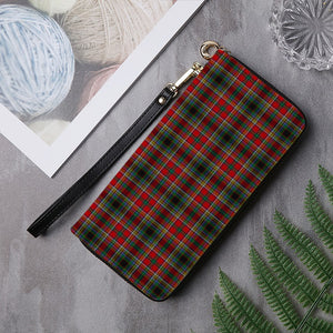 ANDERSON OF ARBRAKE TARTAN ZIPPER WALLET HJ4