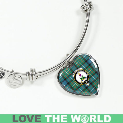 Ferguson Ancient Tartan Silver Bangle - Sd1 Luxury Bangle (Silver) Jewelries