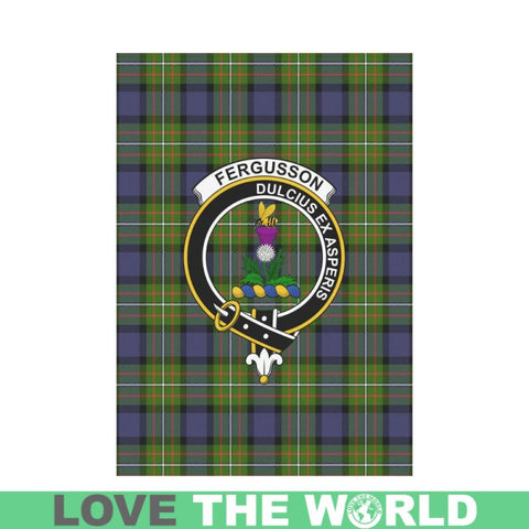 Fergusson Modern Tartan Flag K7 |Home Decor| 1sttheworld