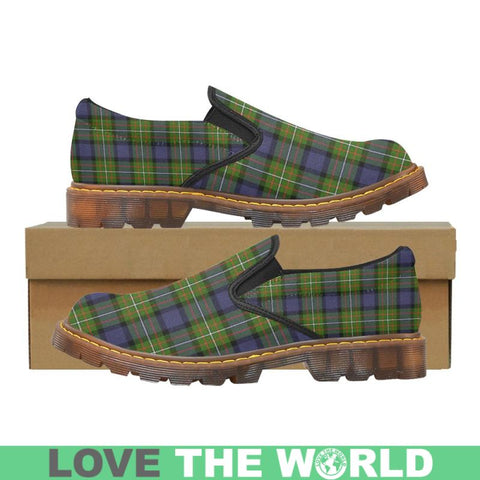 Image of Tartan Martin Loafer - Fergusson Modern | Men's Casual Loafers | Tartan shoes