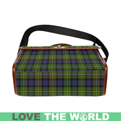 Fergusson Modern Tartan Plaid Canvas Bag | Online Shopping Scottish Tartans Plaid Handbags