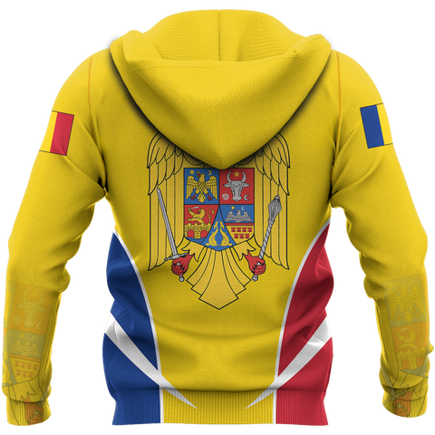 Romania Hoodie | Men & Women | Clothing