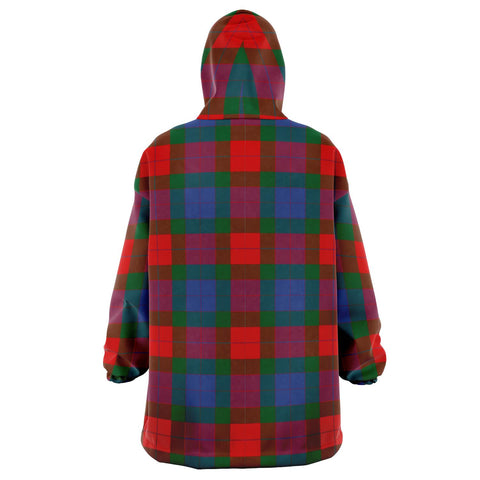 Mar Snug Hoodie - Unisex Tartan Plaid Back