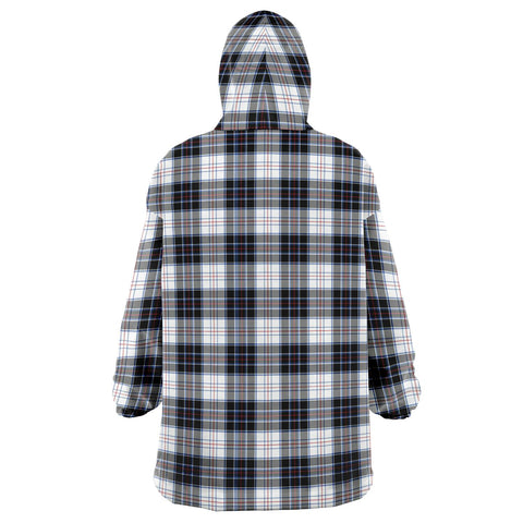 MacRae Dress Modern Snug Hoodie - Unisex Tartan Plaid Back