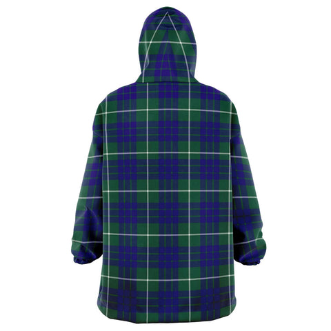 Image of Hamilton Hunting Modern Snug Hoodie - Unisex Tartan Plaid Back