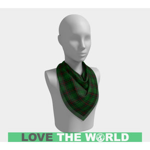FIFE DISTRICT TARTAN SQUARE SCARF F1