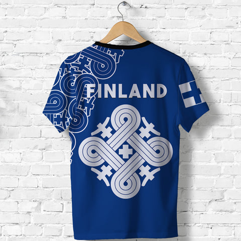 Image of Finland T Shirt Hannunvaakuna Finnish Tattoo back | Clothing | Love The World