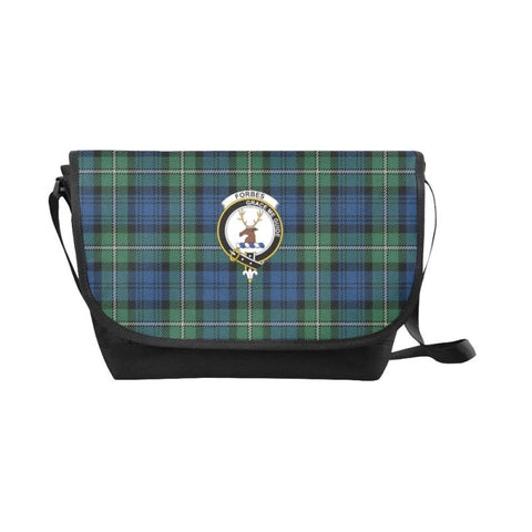 Forbes Ancient Tartan Clan Badge Messenger Bag - Sd1 Bags