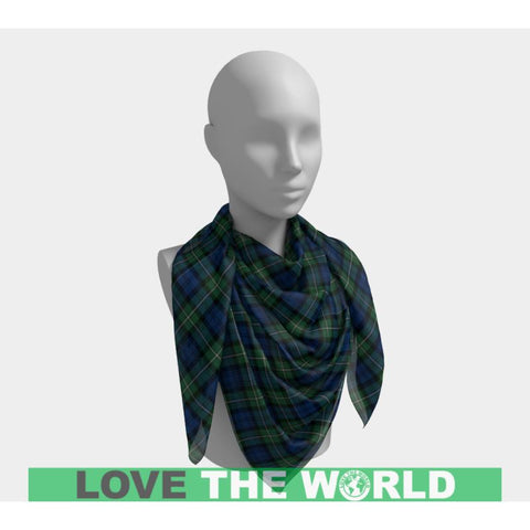 Image of Forbes Ancient Tartan Square Scarf F1 Scarfs
