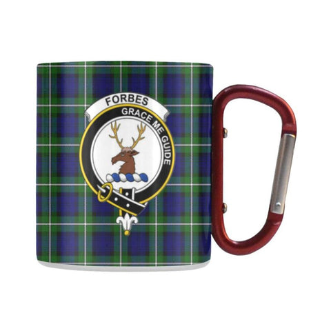 Image of Tartan Mug - Clan Forbes Tartan Insulated Mug A9 | Love The World