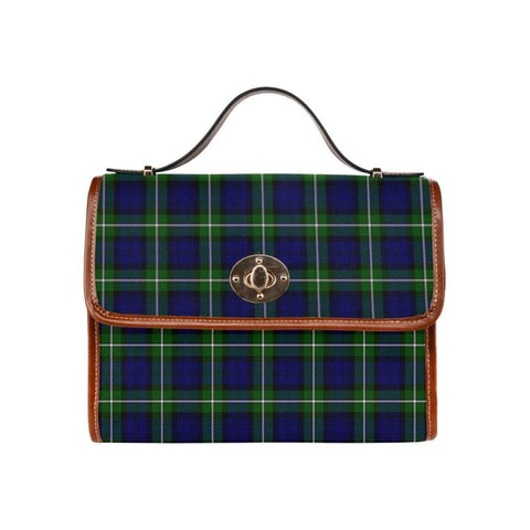 Image of Forbes Modern Tartan Canvas Bag | Waterproof Bag | Scottish Bag