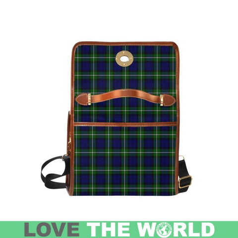 Forbes Modern Tartan Canvas Bag | Waterproof Bag | Scottish Bag