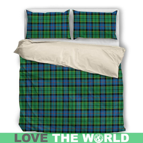 Forsyth Ancient Tartan Bedding Set Nl25 Bedding Set - Black / Twin Sets