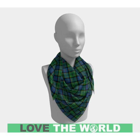 Image of Forsyth Ancient Tartan Square Scarf F1 Scarfs