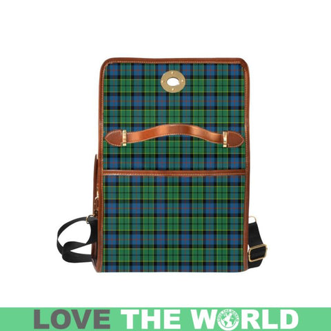 Forsyth Ancient Tartan Canvas Bag | Waterproof Bag | Scottish Bag