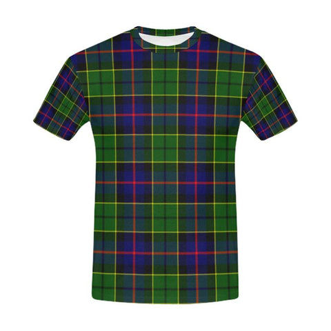 Tartan T-shirt - Forsyth Modern| Tartan Clothing | Over 500 Tartans and 300 Clans