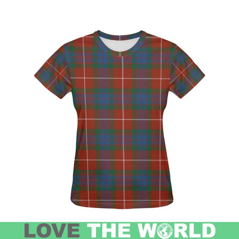 Tartan T-shirt - Fraser Ancient| Tartan Clothing | Over 500 Tartans and 300 Clans