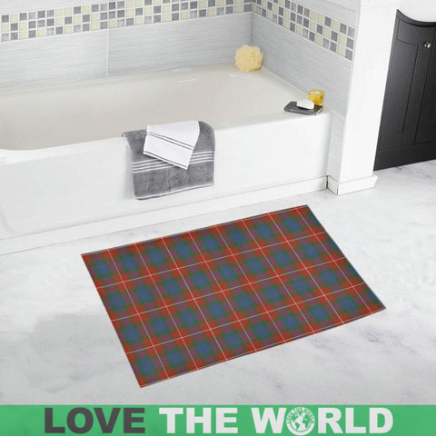Fraser Ancient Tartan Bath Rug | Bath: Home & Kitchen | 1sttheworld