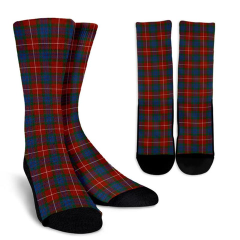 Fraser Ancient Tartan Socks, scotland socks, scottish socks, Xmas, Christmas, Gift Christmas, noel, christmas gift, tartan socks, clan socks, crew socks, warm socks