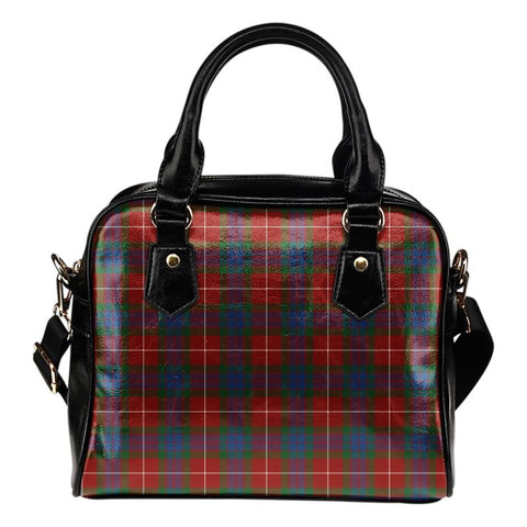 Tartan Shoulder Handbag - Fraser Ancient