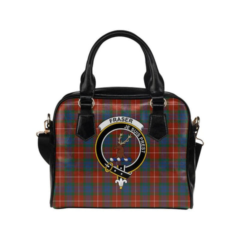 Fraser Ancient Tartan Shoulder Handbag - Bn Pu Handbags