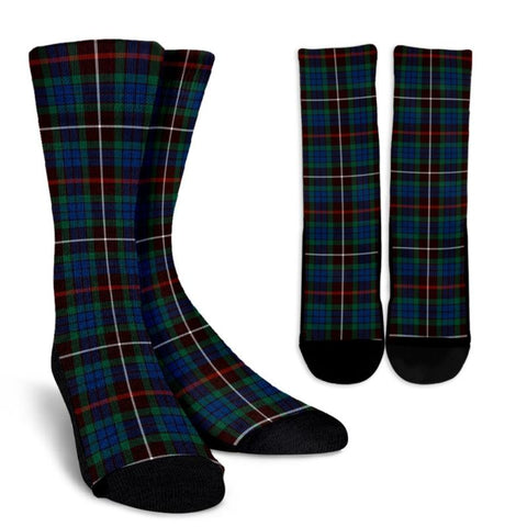 Fraser Hunting Ancient Tartan Socks, scotland socks, scottish socks, Xmas, Christmas, Gift Christmas, noel, christmas gift, tartan socks, clan socks, crew socks, warm socks