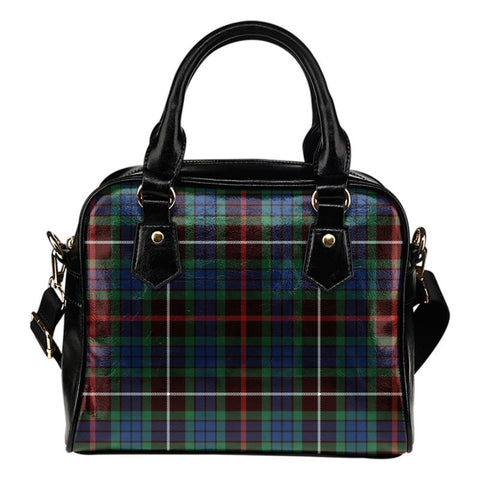 Tartan Shoulder Handbag - Fraser Hunting Ancient